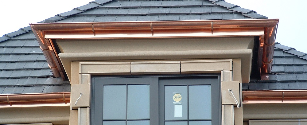 Copper Gutter Installation Sacramento
