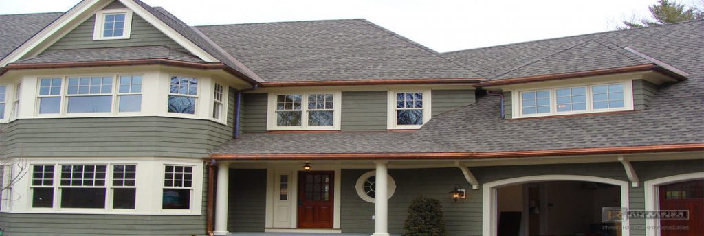 Specialty Copper Gutter